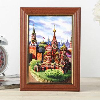"""Ключница """"Вид на Кремль"""" (21 х 15 х 5 см)"""