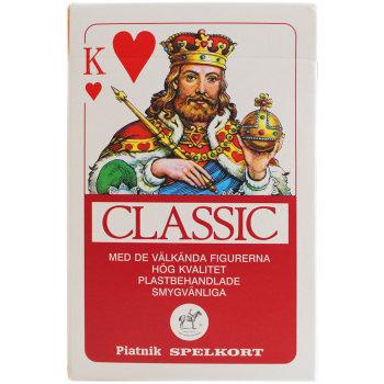 """Игральные карты """"Classic"""" в шведском стиле (Piatnik, 54 карты)"""