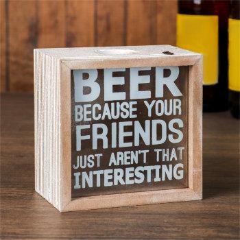 """Копилка для пивных крышек """"Beer"""" (13 х 13 х 8 см)"""