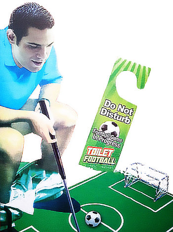 "Игра для туалета ""Футбол"""