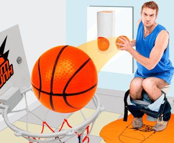 "Игра для туалета ""Баскетбол"""
