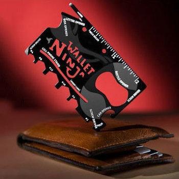 Мультитул Wallet Ninja (18 инструментов в одном)
