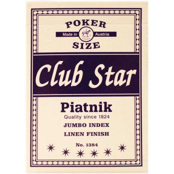 """Игральные карты """"Club Star"""" (Piatnik, 54 карты)"""