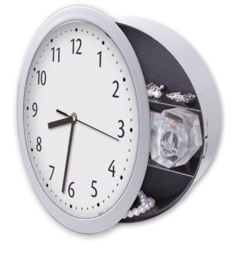 Настенные часы-тайник (25 см)