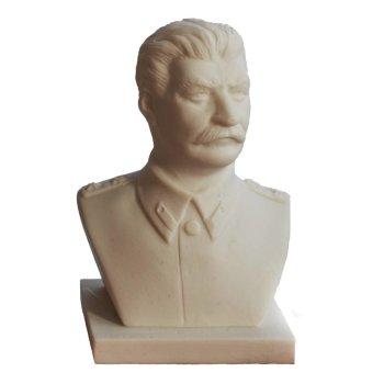 Бюст Сталина из мраморной крошки (6,5 см)