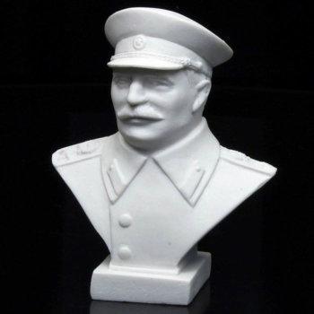 Бюст Сталина из мраморной крошки (9,5 см)
