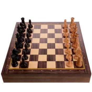"""Шахматы """"Сенеж"""" из бука (38 х 38 х 5 см)"""