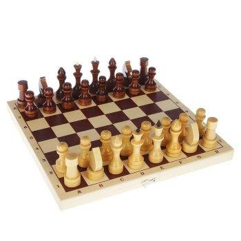"""Шахматы """"Простые"""" (29 х 14,5 х 4 см)"""