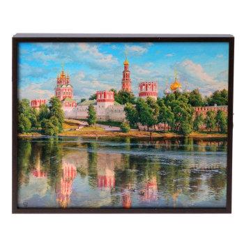 """Ключница """"Новодевичий монастырь"""" (25 х 20 х 5 см)"""