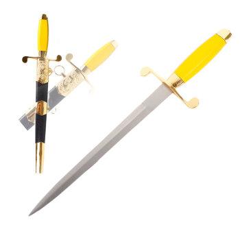 Сувенирный кортик (жёлтая рукоять)