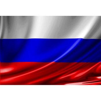 Флаг России на флажном шёлке (135 х 90 см)