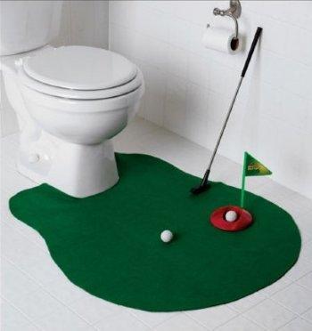 """Игра для туалета """"Гольф"""""""