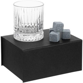 """Набор для виски """"Elision"""" (бокал, 9 камней для виски)"""