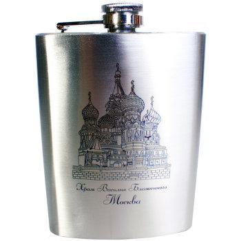 """Фляжка """"Храм Василия Блаженного"""" (240 мл)"""