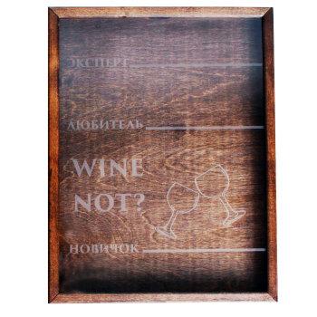 """Копилка для винных пробок """"Wine Not?"""" (42 х 32 х 5 см)"""
