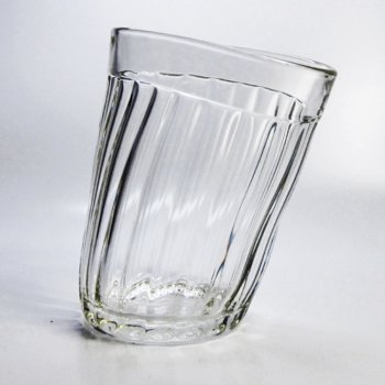 Пьяный гранёный стакан (250 мл)