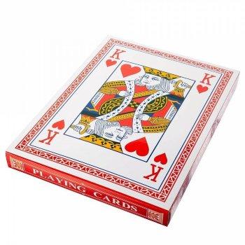 Большие игральные карты (54 карты, 19 х 12 см)