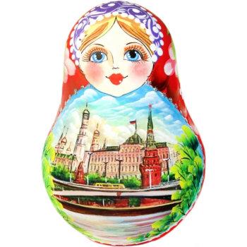 """Деревянная неваляшка """"Москва"""""""