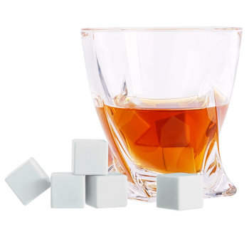 "Керамические камни для виски ""White Rocks"" (9 кубиков)"