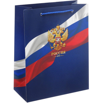 "Подарочный пакет ""Россия"" (32 х 25 х 12 см)"