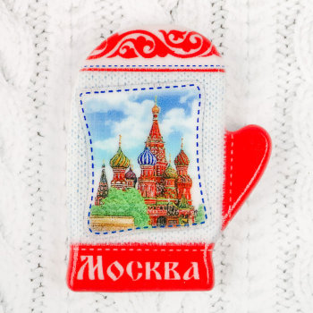 "Магнит ""Московская варежка"""