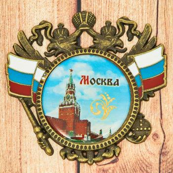"""Магнит """"Кремль и Герб России"""""""