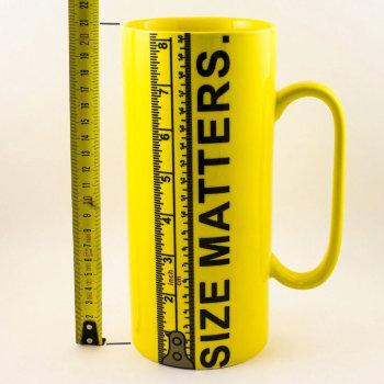 Кружка в виде линейки на 20 см Size Matters (1000 мл)