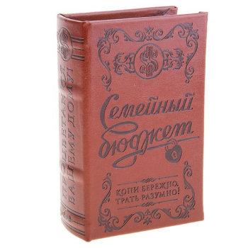 """Книга-сейф """"Семейный бюджет"""" (21 х 14 см)"""