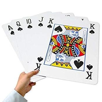 Игральные карты формата А4 (28 х 21 см)