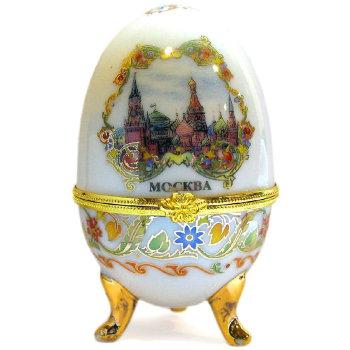 "Яйцо-шкатулка ""Москва"" (7,5 см)"