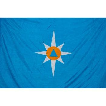 Флаг МЧС РФ (135 х 90 см)