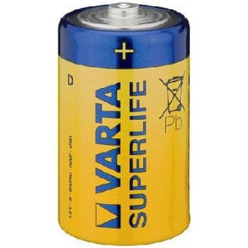 Солевая батарейка Varta C (R14)