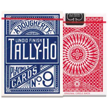 """Игральные карты """"Tally-Ho"""" (USPCC, 54 штуки)"""