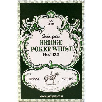 """Игральные карты """"Bridge Poker Whist"""" (Piatnik, 55 карт)"""