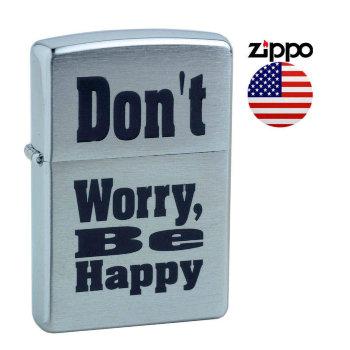 Зажигалка Zippo 200 Don't Worry