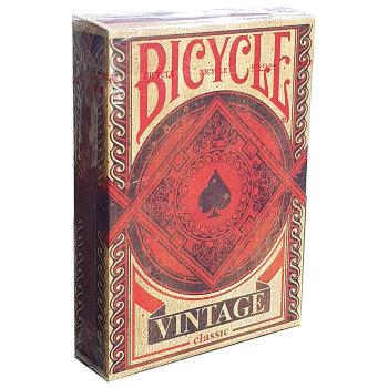 """Игральные карты """"Bicycle Vintage Classic"""" (USPCC, 54 карты)"""