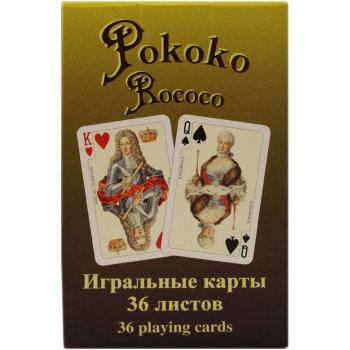 """Коллекционные игральные карты """"Rococo"""" (Piatnik, 36 карт)"""